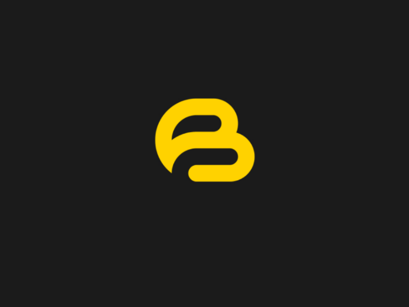 B Logo B Letter Logo Letter Logo Design Logo Design