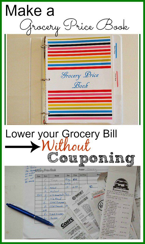 Lower Your Grocery Bill Without Couponing Price book, Books and Store