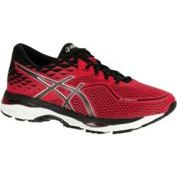 CHAUSSURES RUNNING ASICS GEL CUMULUS 19 HOMME ROUGE
