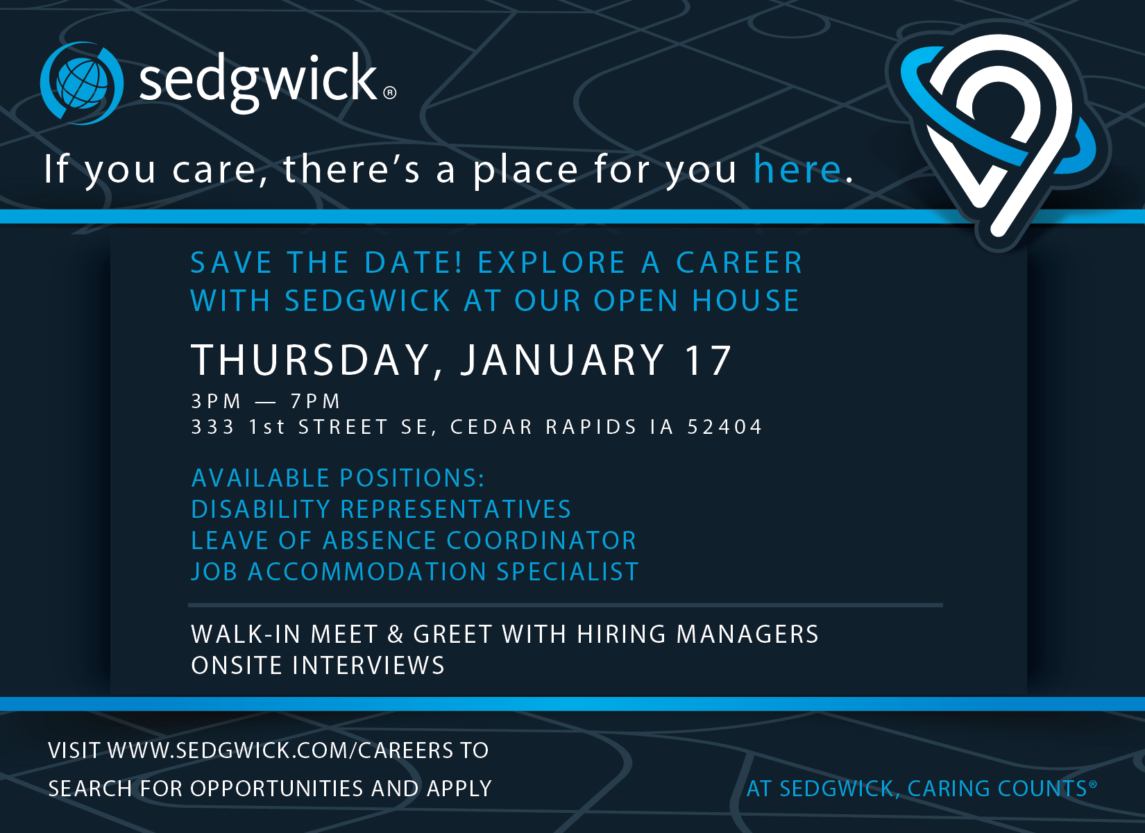 Cedarrapids Speak With Sedgwick Hiring Manager Without A