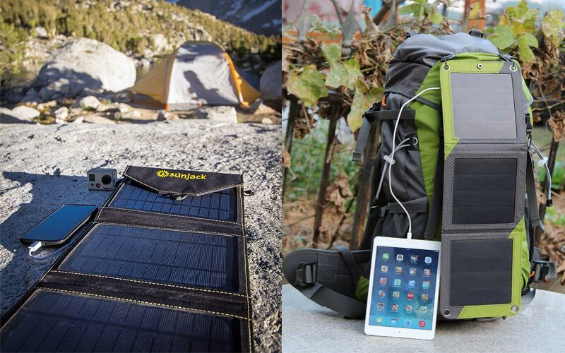 Best Solar Chargers For Backpacking 4 Top Portable Solar Chargers That Backpackers Hikers Would Love To Try For Outings