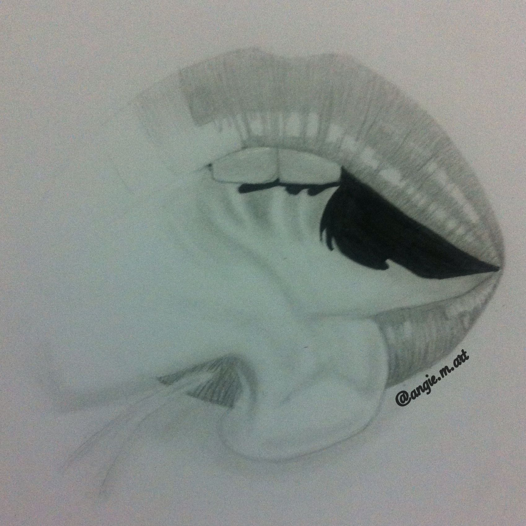 It's just a graphic of Vibrant Lips Smoking Drawing