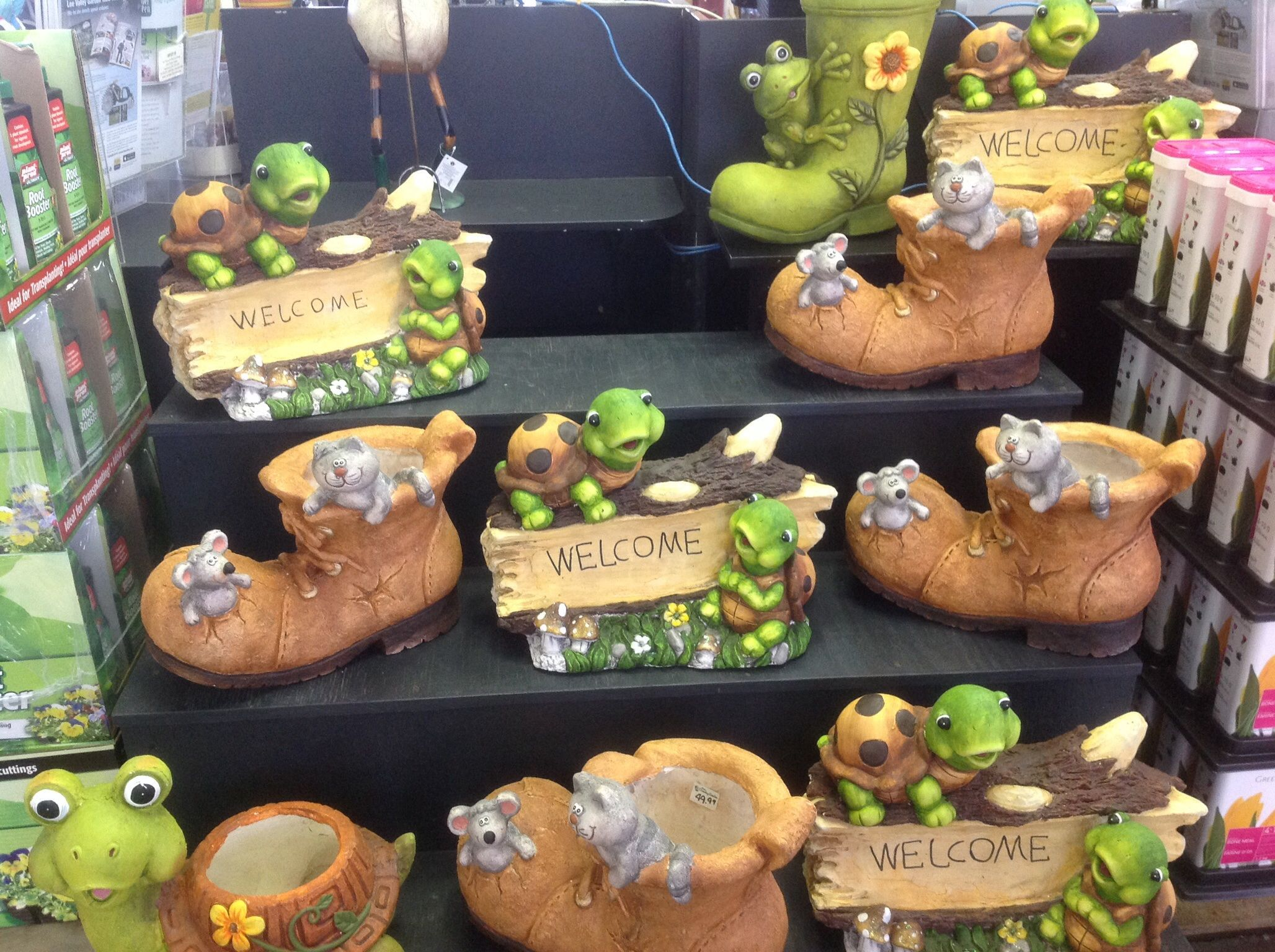 Great garden decor. Nice gift for anyone at any time.