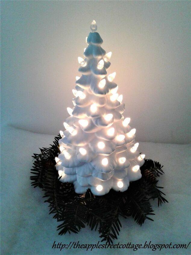 How to Make DIY Christmas Gnome Idea | Burlap christmas tree decor, Tree branch crafts, Ceramic ...