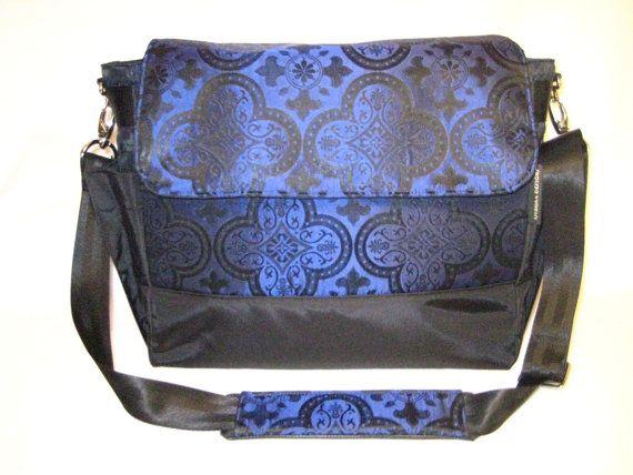 Goth Bag Messenger Gothic Weekender By Isidoradesigns