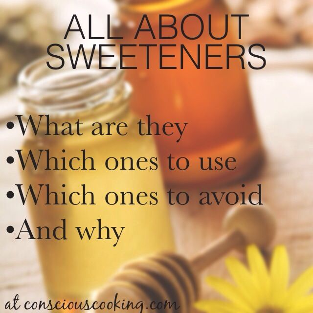 what is the best sweetener for your health