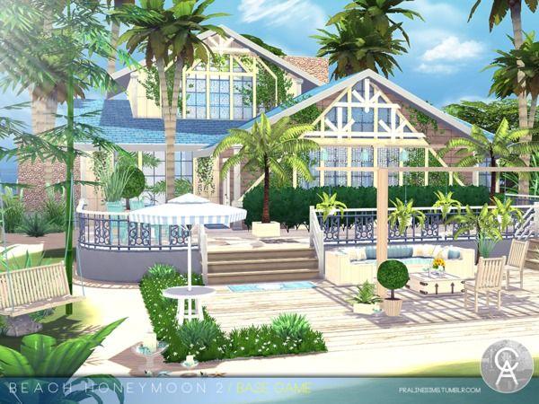 Pralinesims' Beach Honeymoon 2