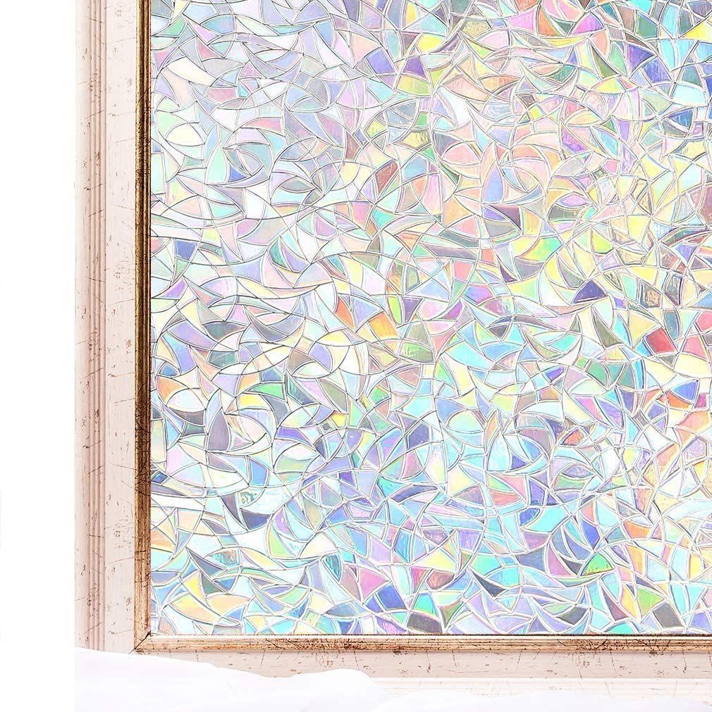 Us 24 98 3d Rainbow Window Film M Dunpie Com In 2020 Window Film Decorative Window Film Window Film Privacy