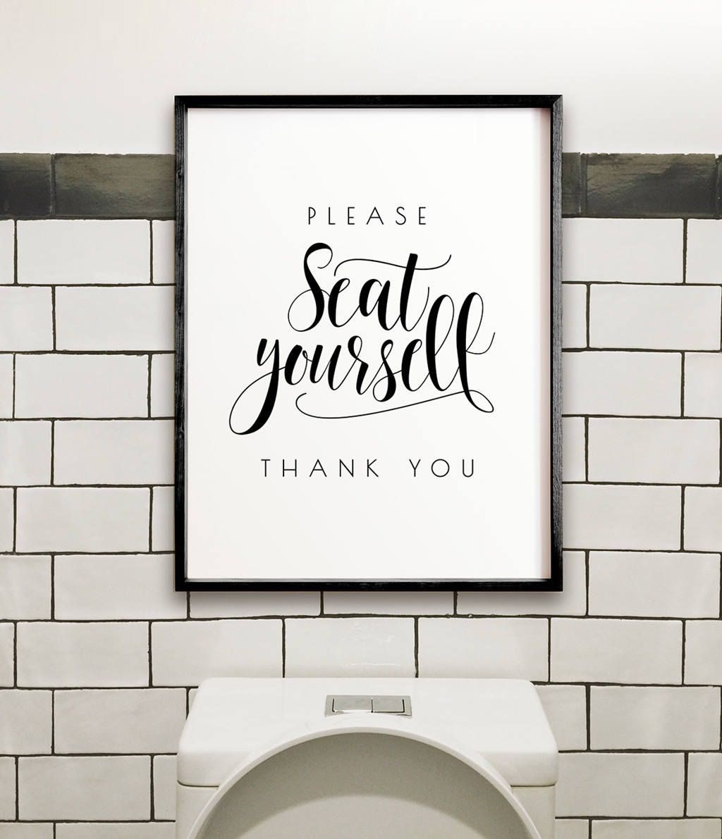 Please seat yourself bathroom wall decor printable wall art please seat yourself bathroom wall decor printable wall art funny bathroom art solutioingenieria Images