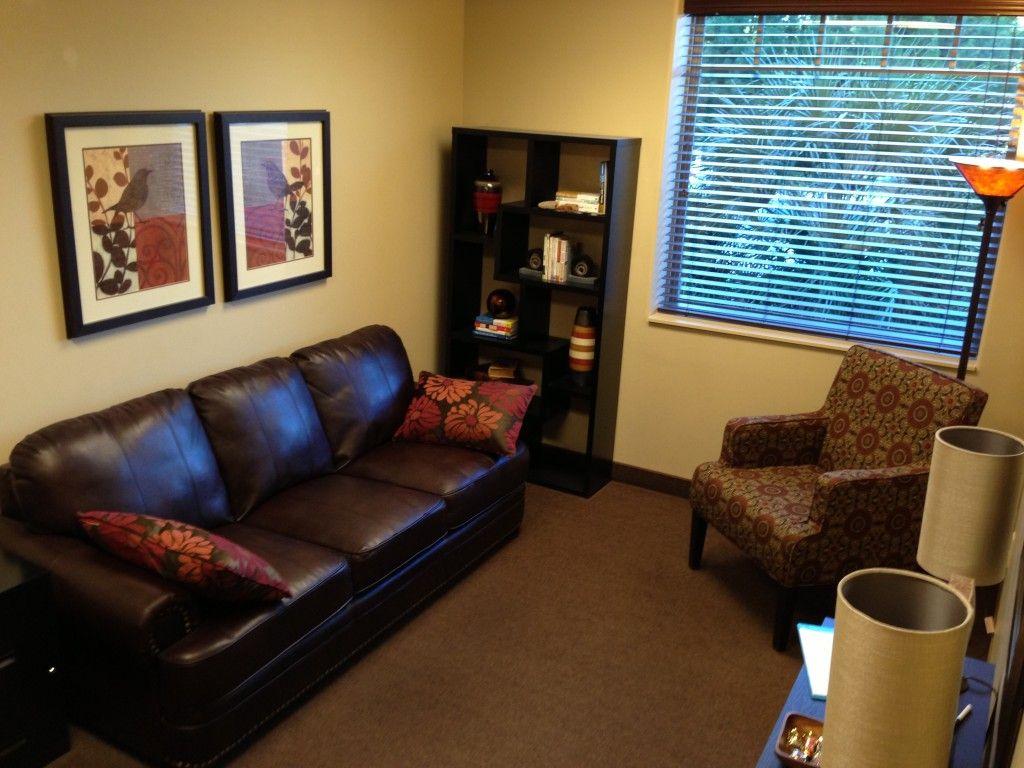 small office space decor   natural color scheme