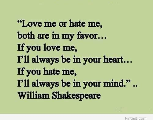 Love Me Or Hate Me Either Way The Odds Are Forever In My Favor