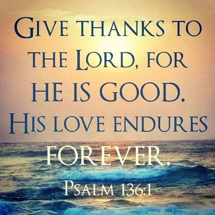 Thank You Father That Your Love Is Constant Is Everlasting