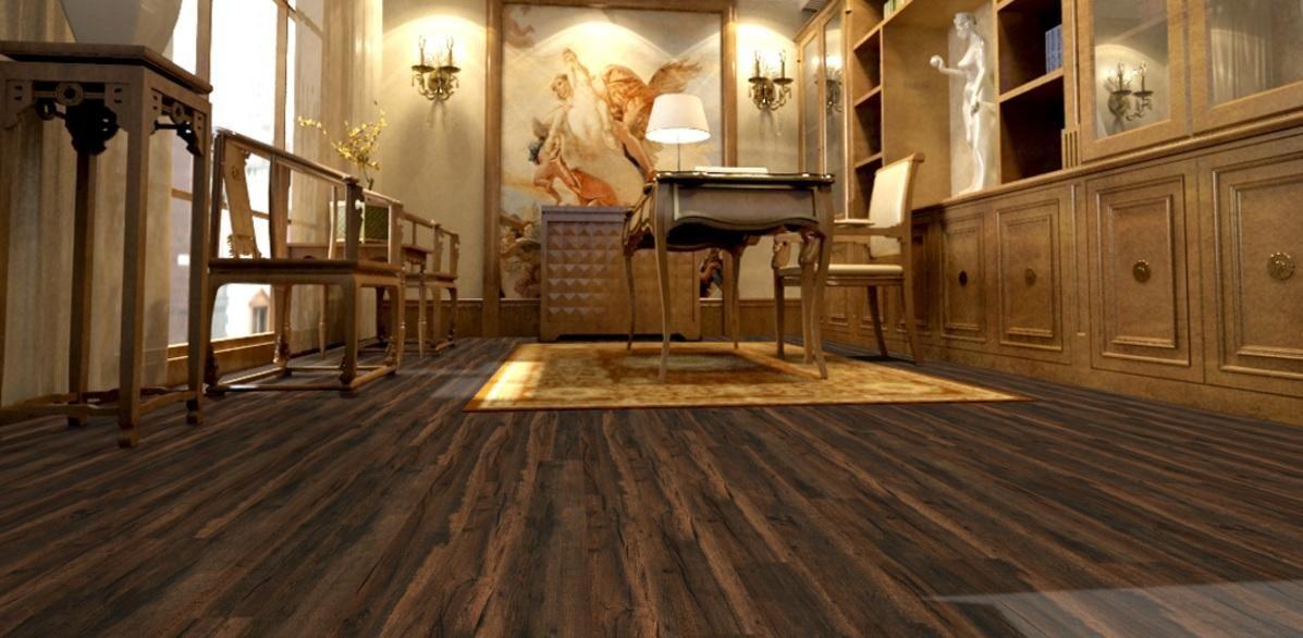 Supreme Click Burlington Pine 103mm Laminate Flooring With Attached