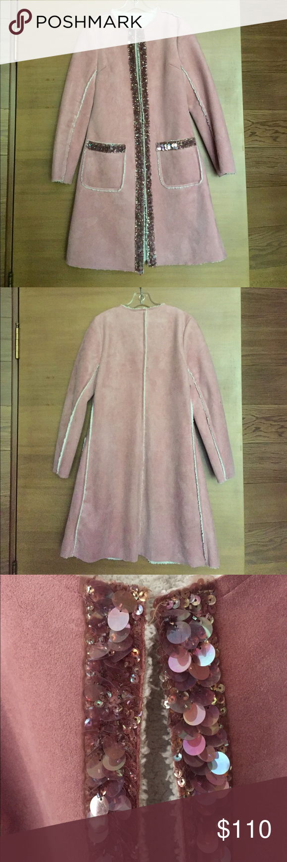 MONKEY WEAR faux shearling coat | Faux shearling coat, Shearling ...