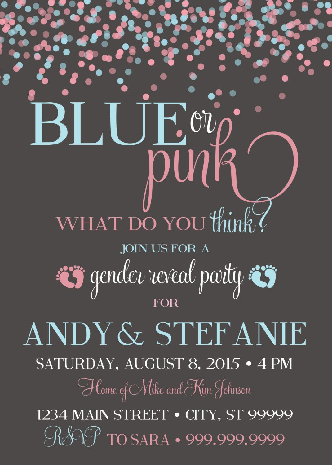 10 Baby Gender Reveal Party Ideas – Gender Reveal Party Invitations