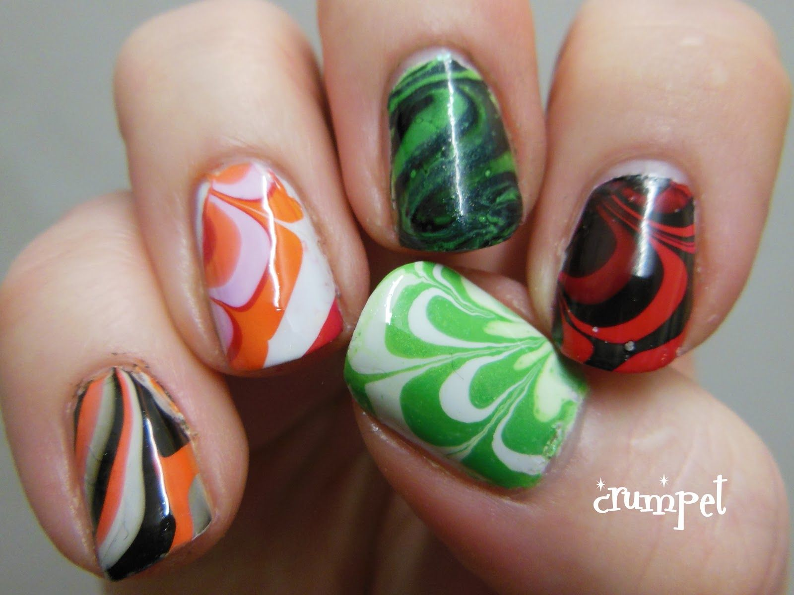 The Crumpet Product Review Rio Beauty Water Marble Nail Art Kit