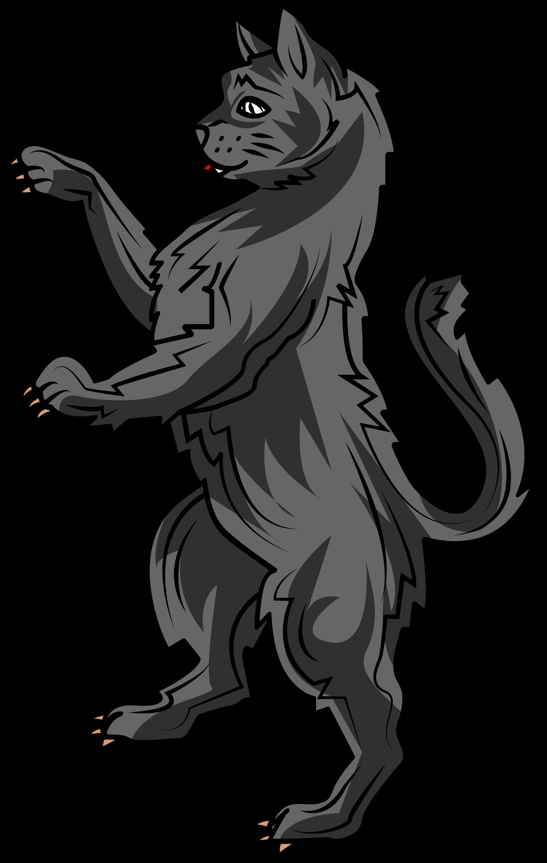 The cat in heraldry is a symbol of liberty watchfulness vigilance symbols biocorpaavc Choice Image