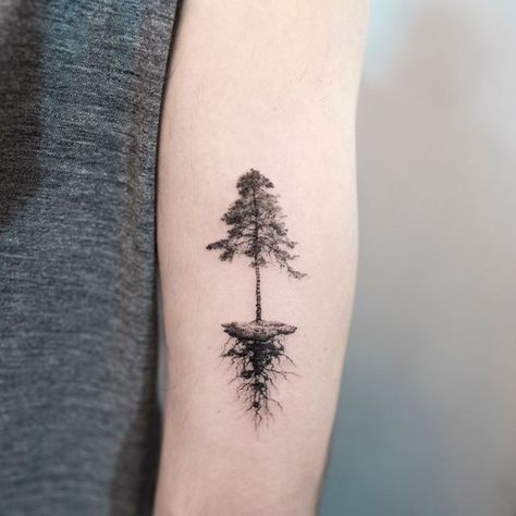 42 Pine Tree Tattoo Ideas To Try In November 2020 Pine Tattoo Tree Tattoo Meaning Tree Tattoo Small