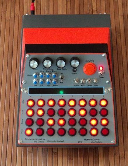 mystery circuits 39 trommemaskine 39 drum machine electronics pinterest drum machine drums. Black Bedroom Furniture Sets. Home Design Ideas