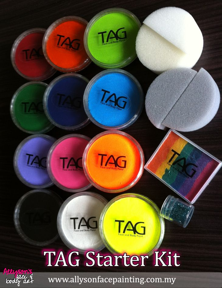 FP Set Face painting, Face painting easy, Face paint set