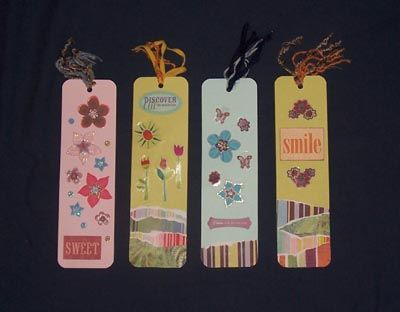 spring bookmarks -- image by Dana Hinders MN seasons- Spring
