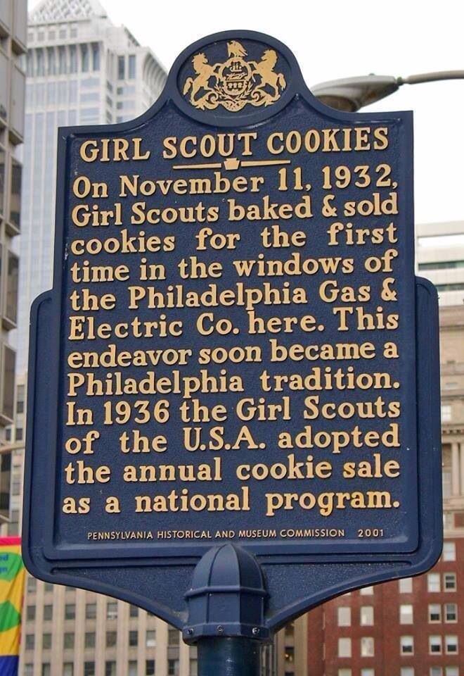Girl Scout Cookies ThrowbackThursday Girl scouts, Girl