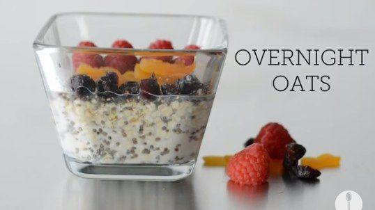 Overnight Breakfast Oats