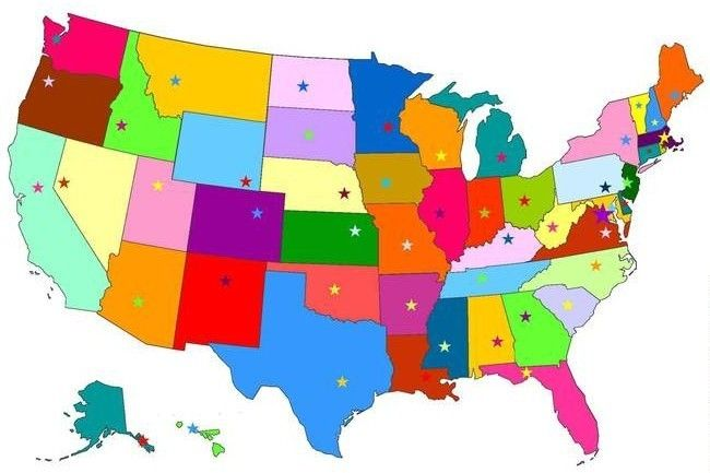 The Great State Capital Challenge | States, capitals, Fun ...