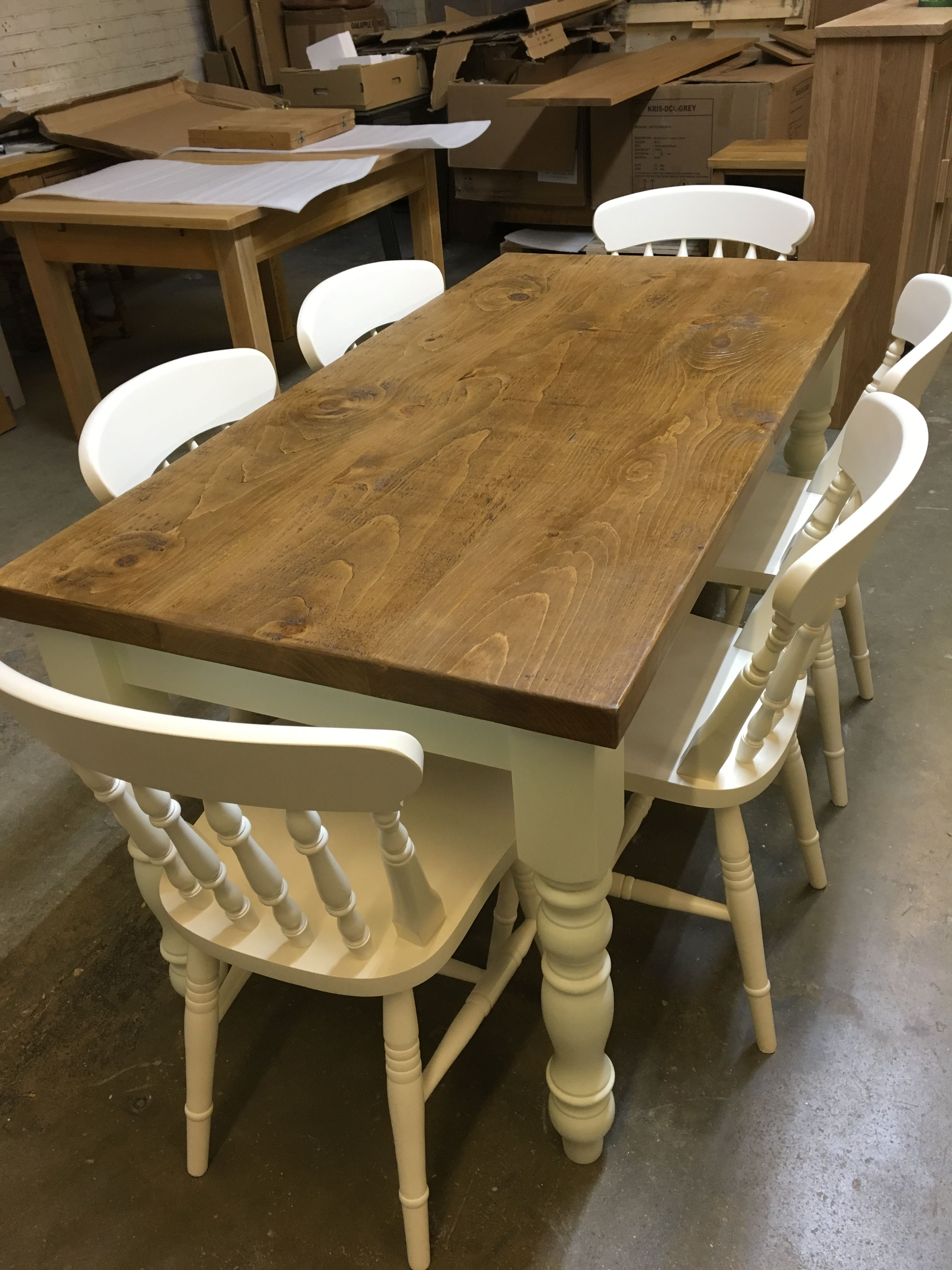 Made To Order Table Base F B Tunsgate Green And Chairs In F B