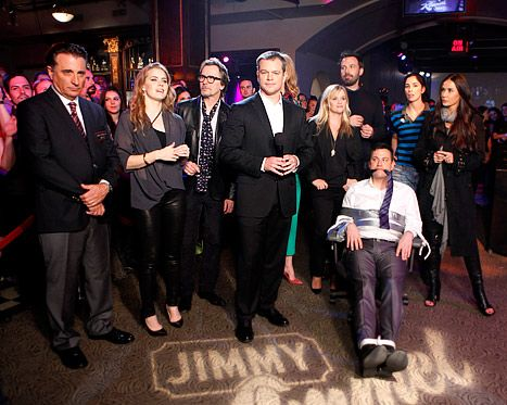 Demi Makes Rare Appearance With Reese Nicole Damon On Jimmy Kimmel Matt Damon Nicole Kidman Jimmy Kimmel