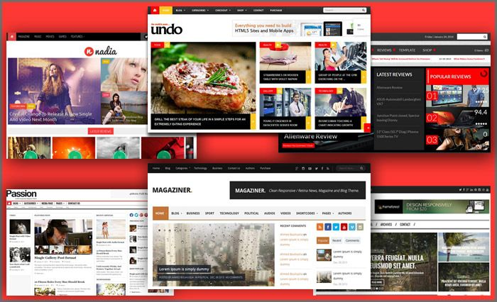 Latest Magazine WordPress Themes Latest Magazine / News WordPress ...