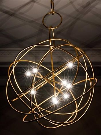 Lustre Astrolabe 1 by Hubert le Gall on artnet Salle à manger