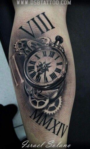 Pin De Jc Kaos Jurado En Tattoos Tatuaje Reloj De Bolsillo