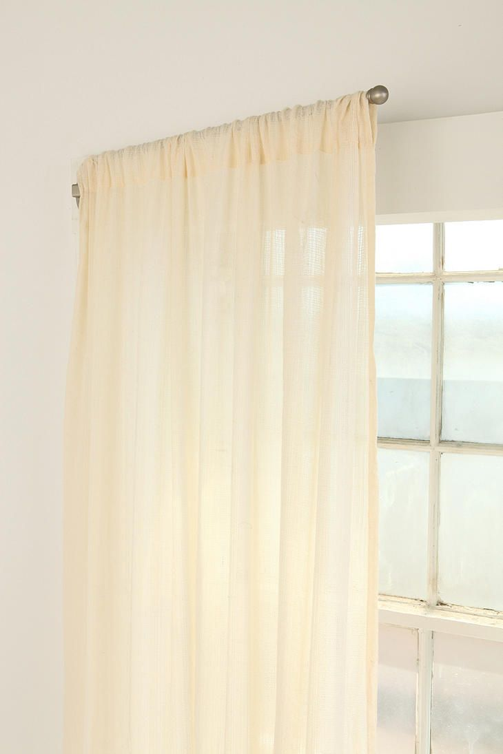 Swing Curtain Rod Set Of 2 Door Curtains Modern