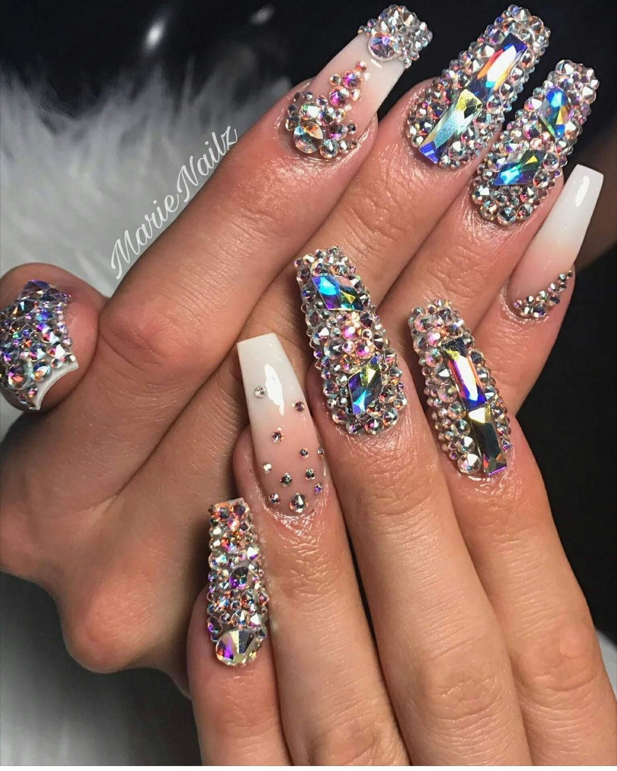 Pin by LaToya Gordon on ☆PRETTY NAIL SWAG☆ | Pinterest | Nail ...