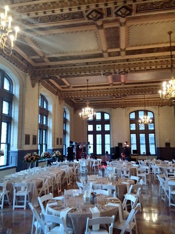 The Mark Twain Ballroom Kansas City Wedding Venue Wedding