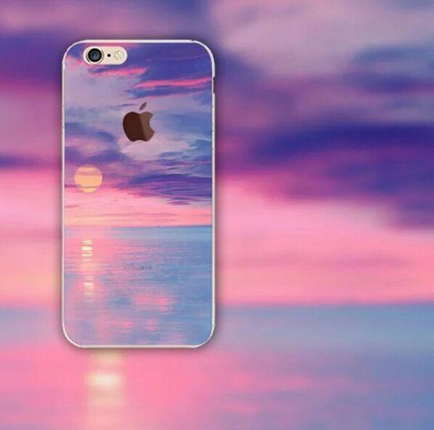 Beautiful Sunset iPhone 5S 6 6S Plus creative case Gift Box-126 ...