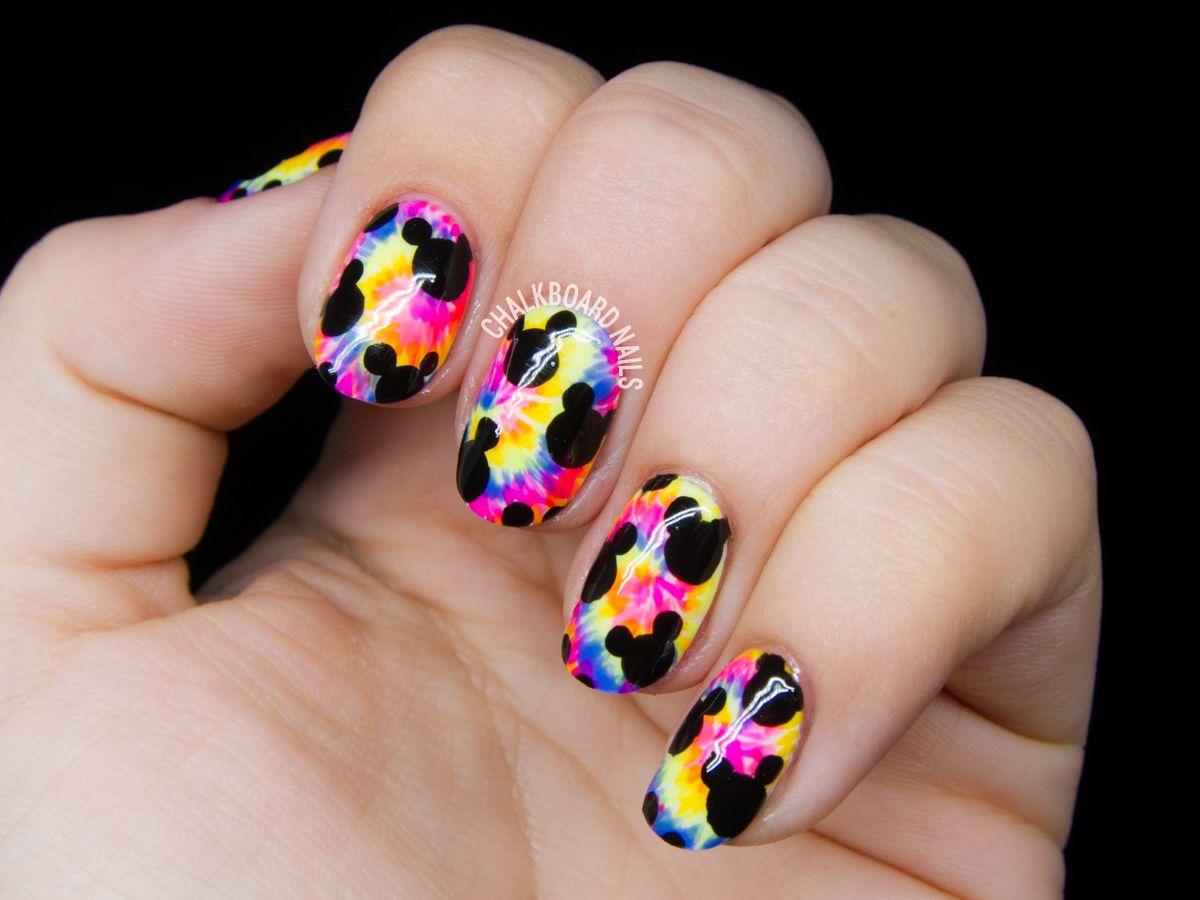 Trippy mickeys nail art mickey nails disney nails and disney trippy mickeys nail art prinsesfo Image collections