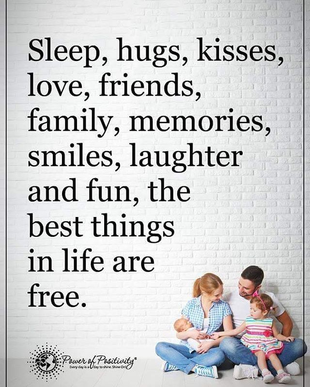 sleep hugs kisses love friends family memories smiles