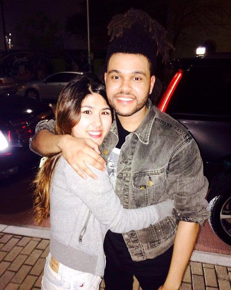 The Way She Hugs Him Selena Gomez The Weeknd The Weeknd Baby Daddy