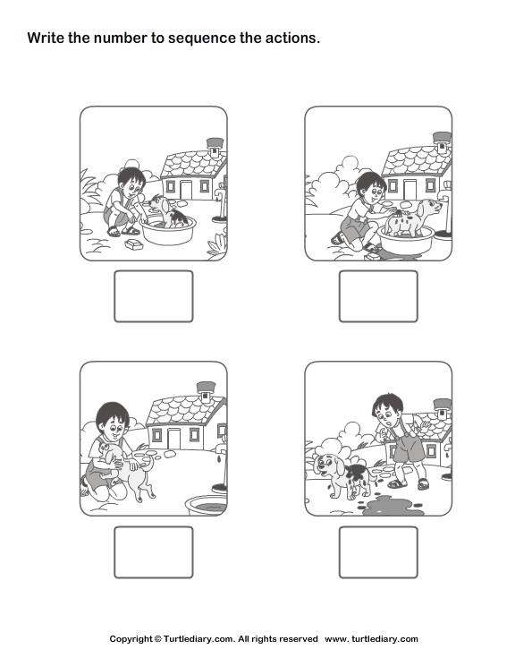 logische volgorde free printable – Free Printable Sequencing Worksheets for Kindergarten