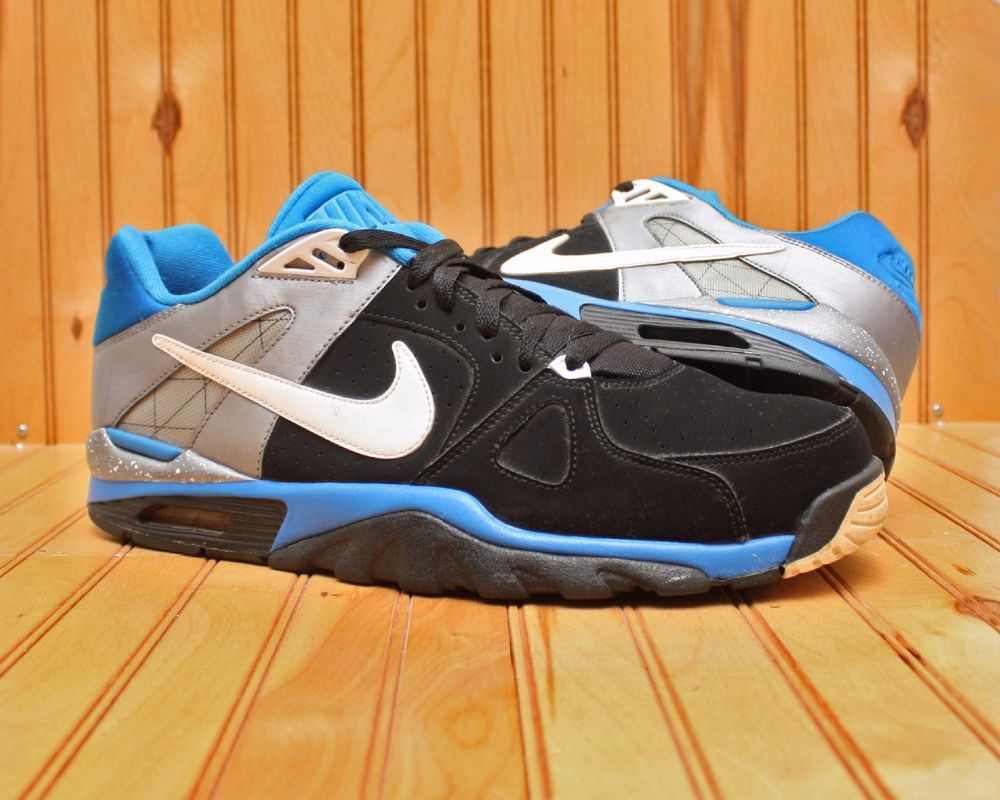 low priced a5e3f 53b76 2011 Nike Air Trainer Classic Low Size 14 -Black White Soar Silver- 488059  010  Nike  RunningCrossTraining