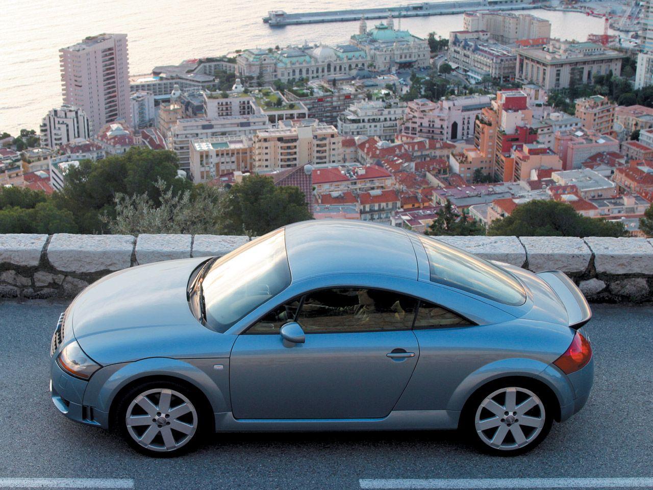 Audi Tt Coupe Side City View 1280x960 Wallpaper Voiture