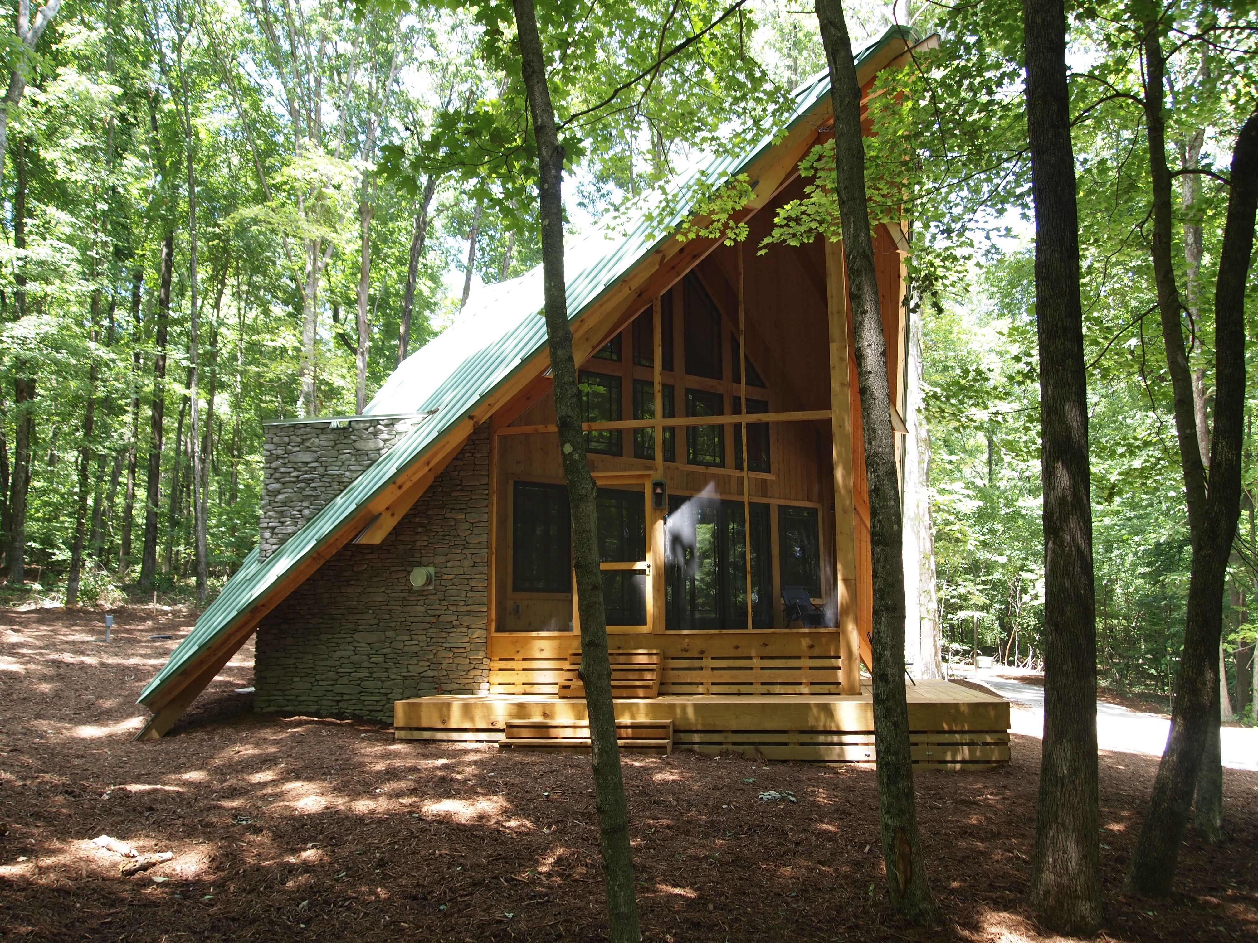 Living Large Reveals A Unique Tiny House In The Woods