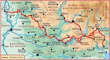 The High Provence By The Verdon Gorge Gr4 Ref 401 Gorges Du