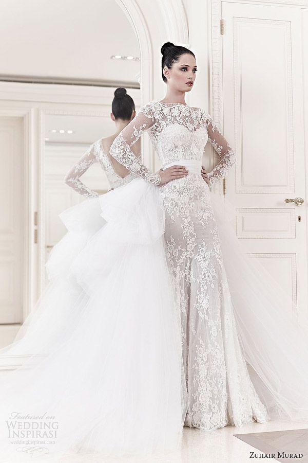 Zuhair Murad Wedding Dresses Spring 2014 Wedding Inspirasi Long Sleeve Wedding Dress Lace Winter Wedding Dress Wedding Dresses Zuhair Murad