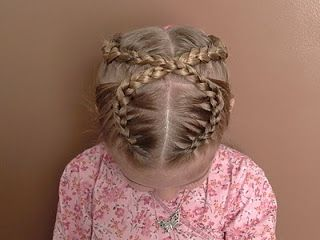 Shaunell's Hair: Little Girl's EASTER Hairstyle - Figure 8 French Braid 20-30 min