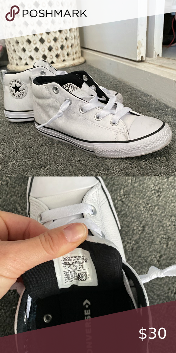 Converse mid ankle high top in 2020