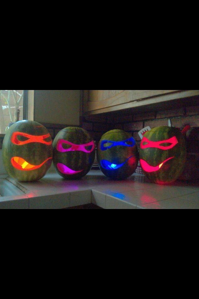TMNT watermelon lanterns