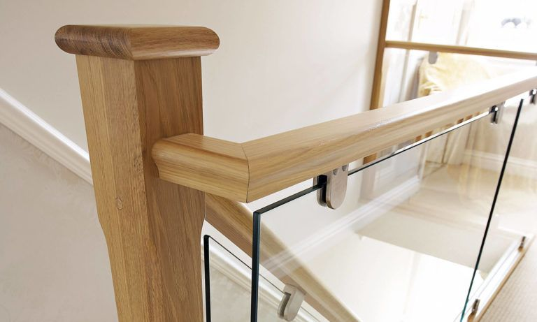 Best Oak And Glass Staircase Glass Stairs Glass Glass Panels 400 x 300